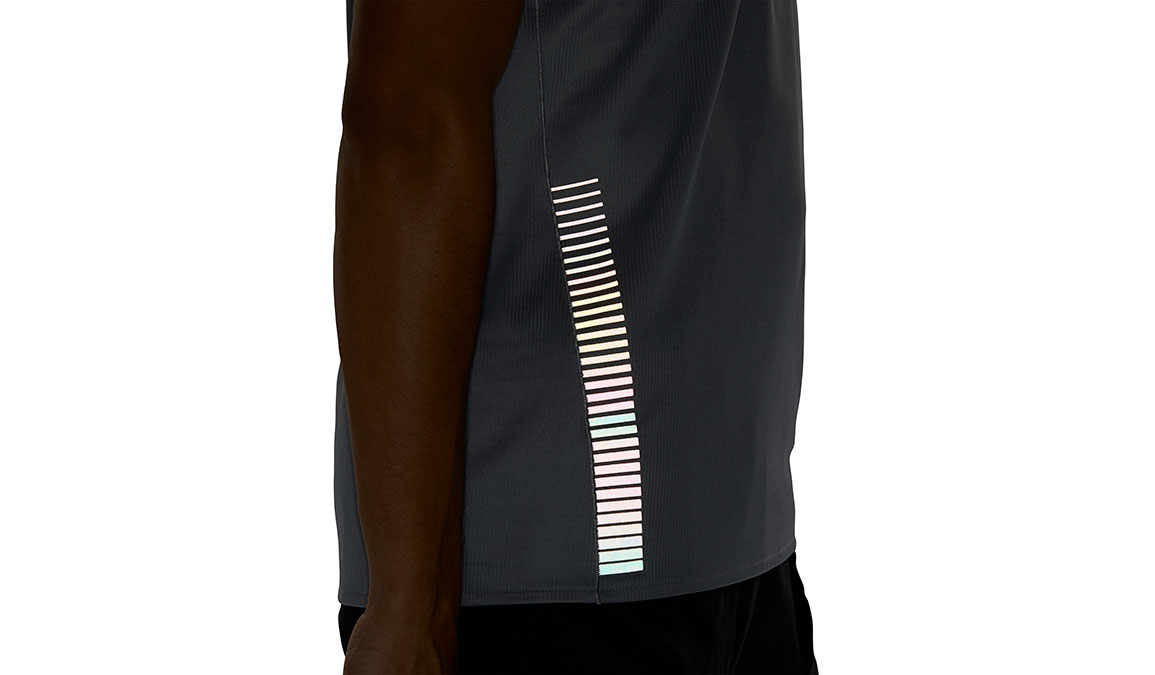 Men's Adidas Rise Up N Run Tee - Color: Grey Size: S, Grey, large, image 4