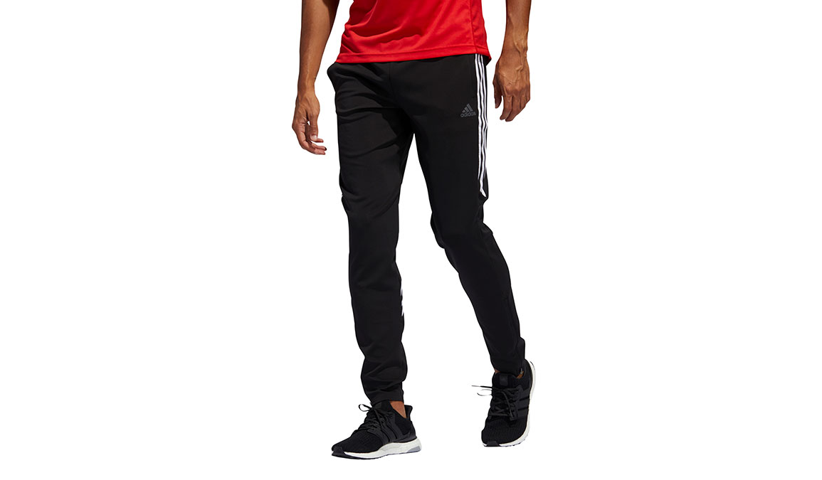 Men's Adidas Run It 3-Stripes Astro Jogger - Color: Black Size: M, Black, large, image 1