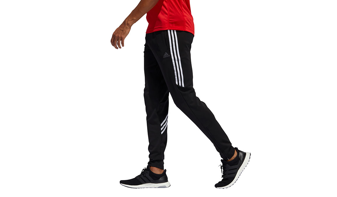 Men's Adidas Run It 3-Stripes Astro Jogger - Color: Black Size: M, Black, large, image 2