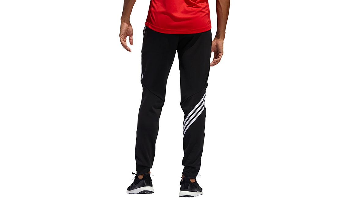 Men's Adidas Run It 3-Stripes Astro Jogger - Color: Black Size: M, Black, large, image 3