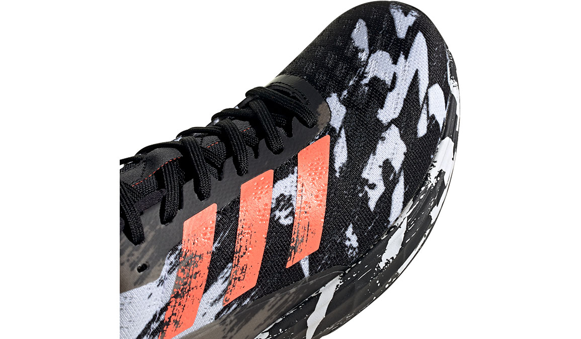 Men's Adidas SL20 Running Shoe - Color: Core Black/Signal Coral/Cloud White (Regular Width) - Size: 6.5, Black/White, large, image 7