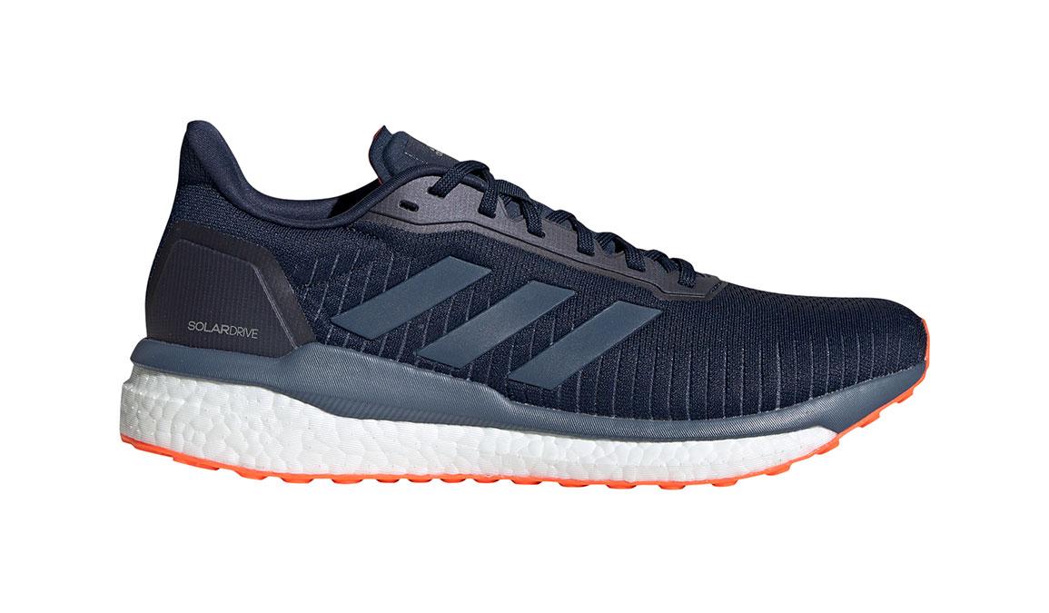 Men's Adidas Solar Drive 19 Running Shoe - Color: Collegiate Navy/Solar Orange (Regular Width) - Size: 10, Collegiate Navy/Solar Orange, large, image 1