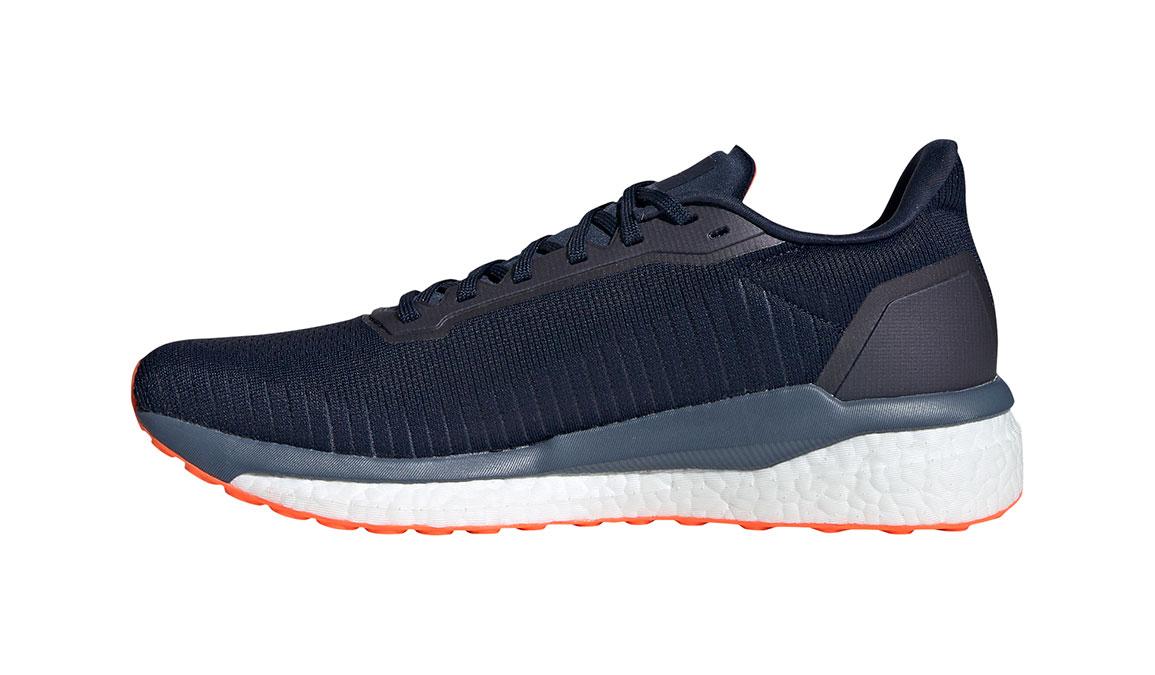 Men's Adidas Solar Drive 19 Running Shoe - Color: Collegiate Navy/Solar Orange (Regular Width) - Size: 10, Collegiate Navy/Solar Orange, large, image 2