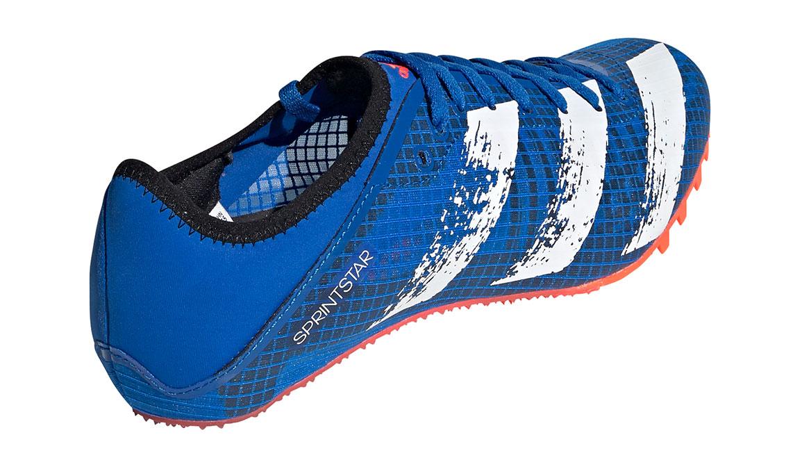 Men's Adidas Sprintstar Track Spikes - Color: Glory Blue/Core White (Regular Width) - Size: 8, Blue/White, large, image 5
