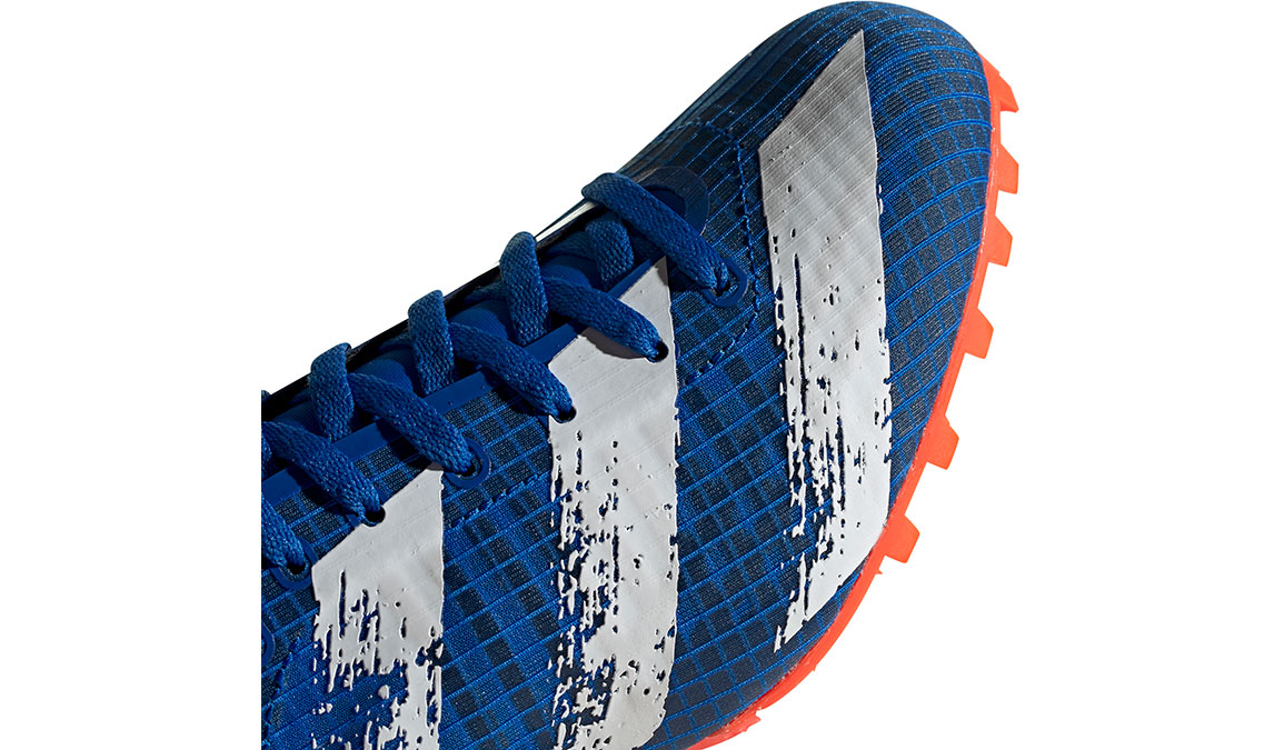 Men's Adidas Sprintstar Track Spikes - Color: Glory Blue/Core White (Regular Width) - Size: 8, Blue/White, large, image 6