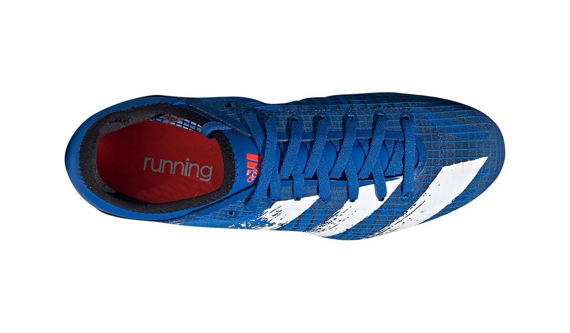 Men's Adidas Sprintstar Track Spikes - Color: Glory Blue/Core White (Regular Width) - Size: 8, Blue/White, large, image 7