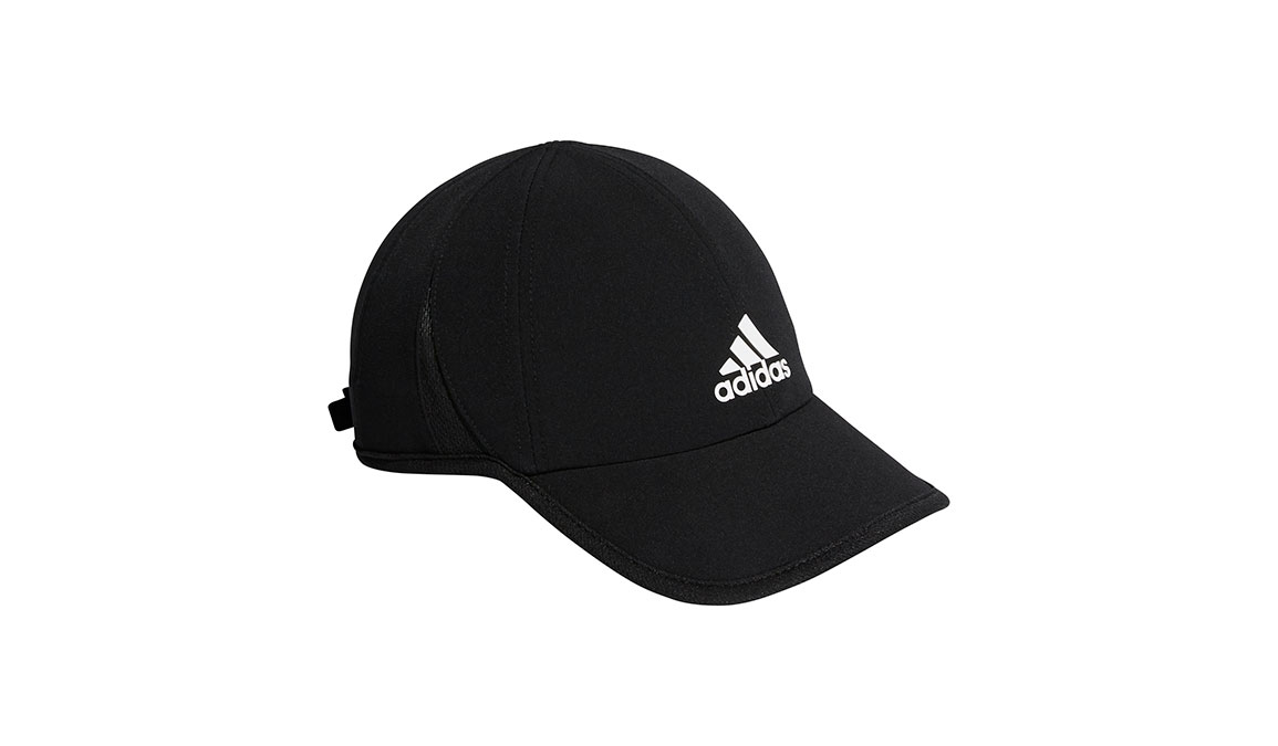 Men's Adidas Superlite Cap - Color: Black Size: OS, Black, large, image 1
