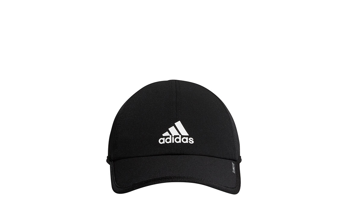 Men's Adidas Superlite Cap - Color: Black Size: OS, Black, large, image 2