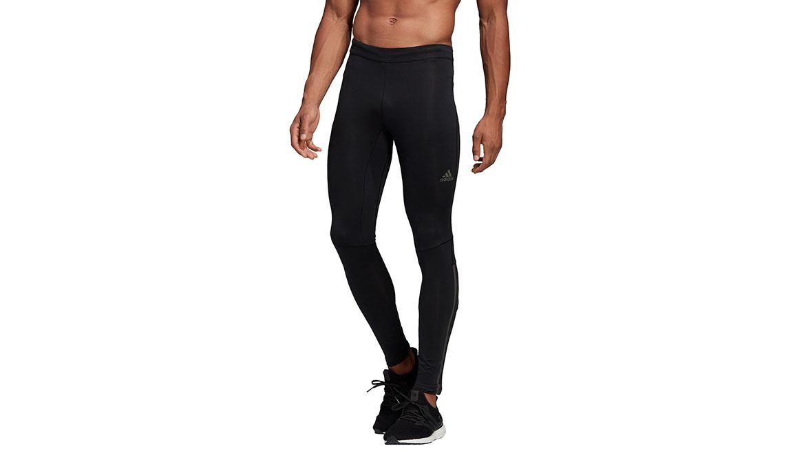 Men's Adidas Supernova Long Tight - Color: Black Size: XL, Black, large, image 1