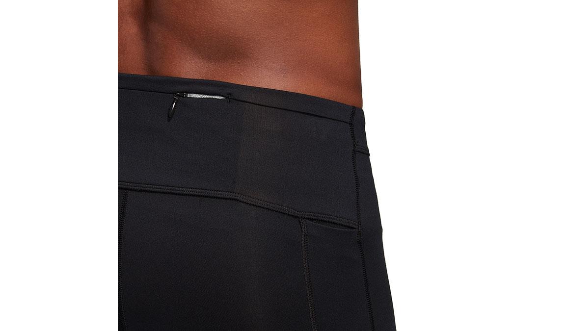 Men's Adidas Supernova Long Tight - Color: Black Size: XL, Black, large, image 4