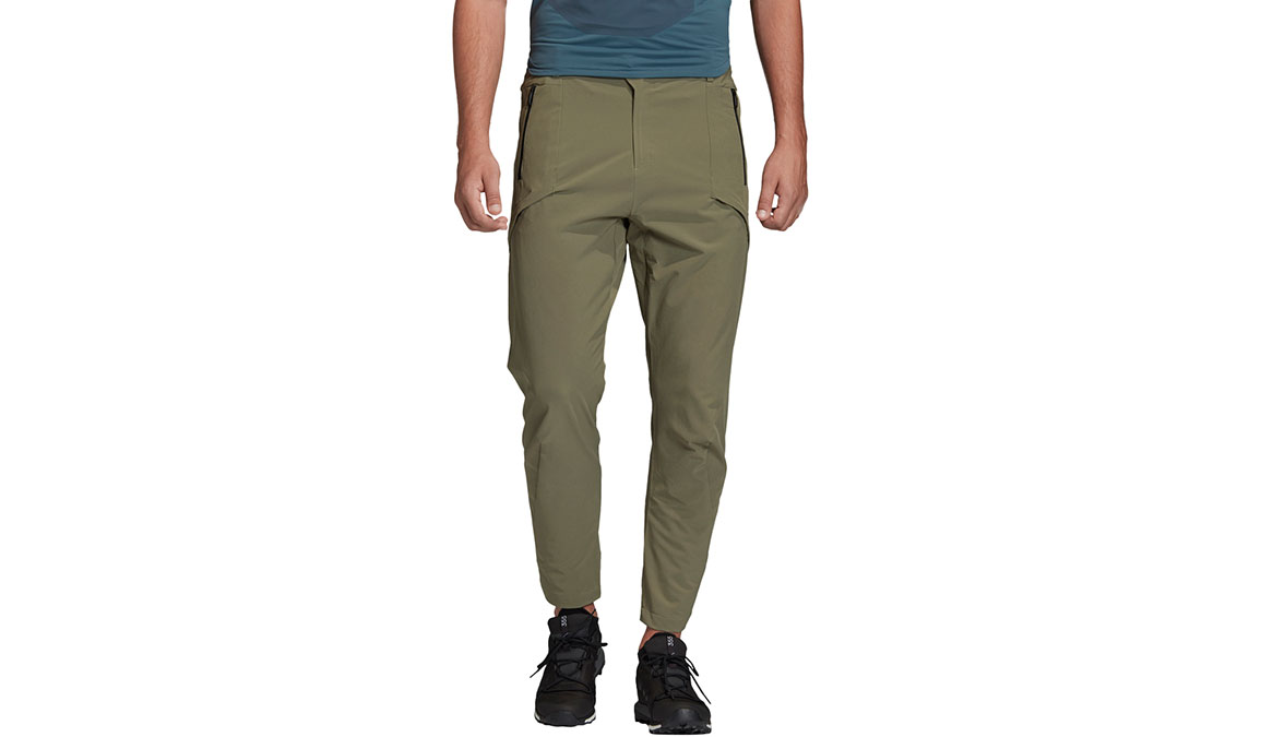"Men's Adidas Terrex Zupahike Pants - Color: Legacy Green Size: 28""L, Legacy Green, large, image 1"