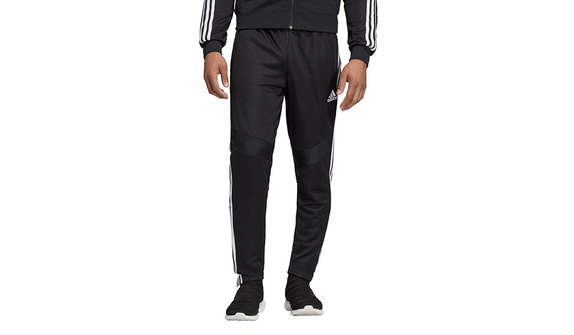 Men's Adidas Tiro19 Training Pants - Color: Black/White Size: XS, Black/White, large, image 1