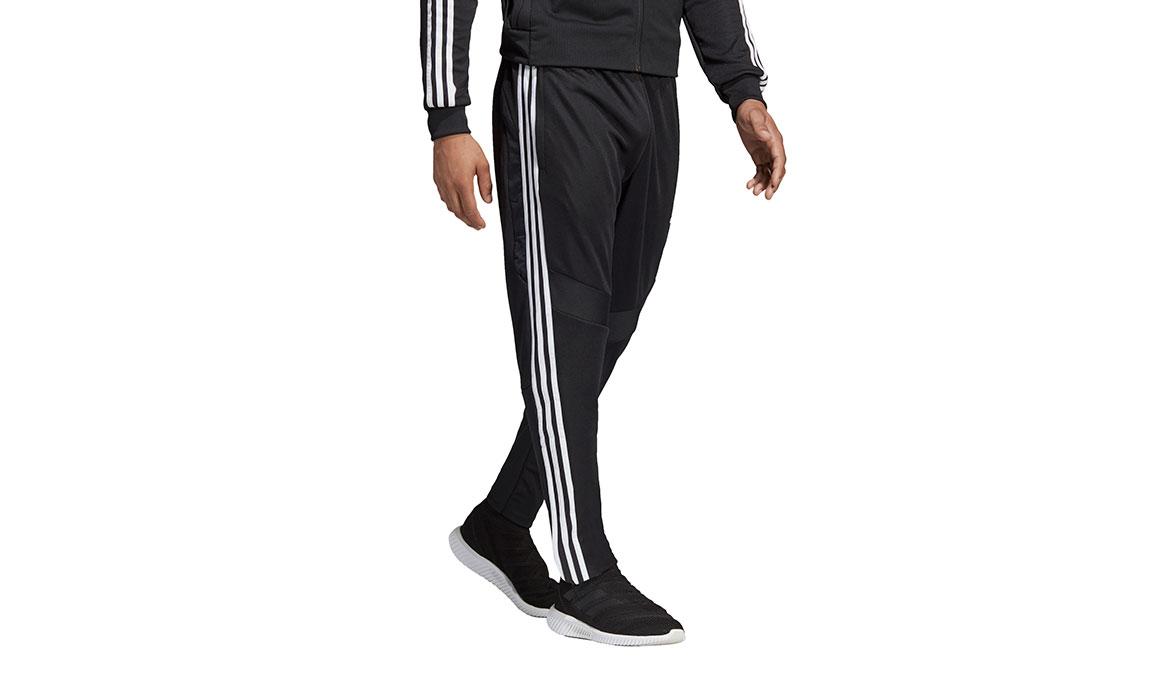 Men's Adidas Tiro19 Training Pants - Color: Black/White Size: XS, Black/White, large, image 2
