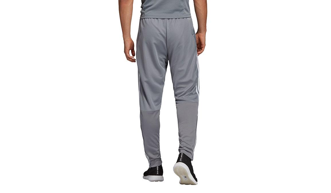 Men's Adidas Tiro19 Training Pants - Color: Grey/White Size: XS, Grey/White, large, image 4