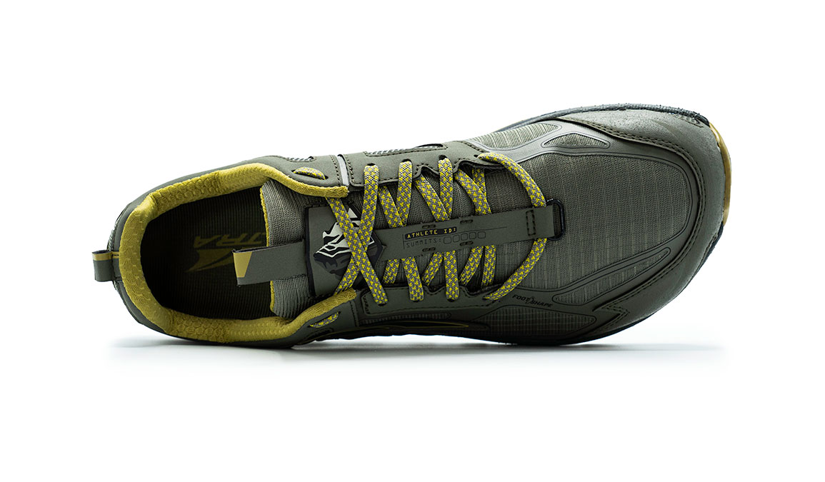 Men's Altra Lone Peak 4.5 Low Trail Running Shoe - Color: Olive/Willow (Regular Width) - Size: 8, Olive/Willow, large, image 2