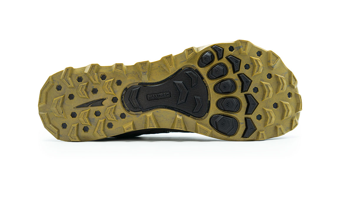 Men's Altra Lone Peak 4.5 Low Trail Running Shoe - Color: Olive/Willow (Regular Width) - Size: 8, Olive/Willow, large, image 3