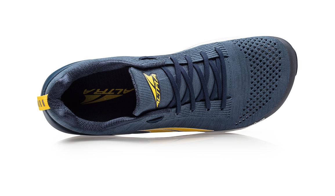 Men's Altra Paradigm 4.5 Running Shoe - Color: Blue/Yellow (Regular Width) - Size: 8.5, Blue/Yellow, large, image 3