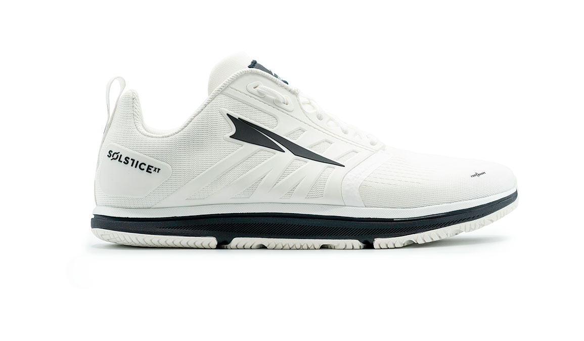 Men's Altra Solstice XT Training Shoes - Color: White/Black (Regular Width) - Size: 7, White/Black, large, image 1
