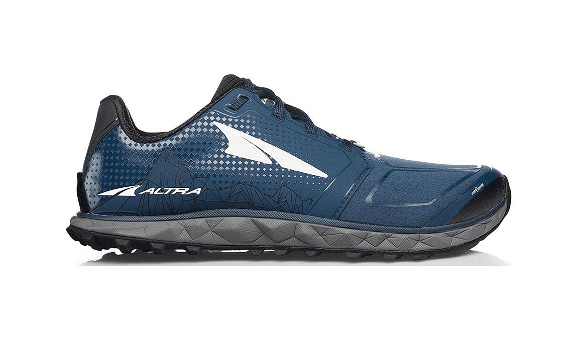Men's Altra Superior 4 Running Shoe - Color: Blue/Grey (Regular Width) - Size: 10, Blue/Grey, large, image 1