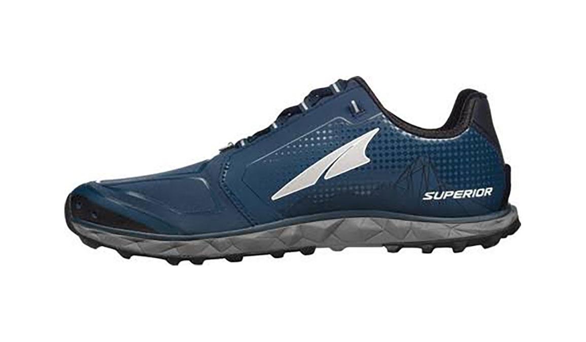 Men's Altra Superior 4 Running Shoe - Color: Blue/Grey (Regular Width) - Size: 10, Blue/Grey, large, image 2
