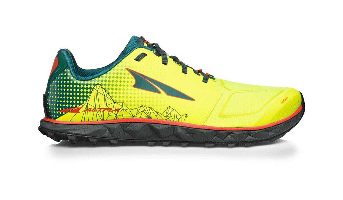 Men's Altra Superior 4 Running Shoe - Color: Neon/Blue (Regular Width) - Size: 8.5, Neon/Blue, large, image 1