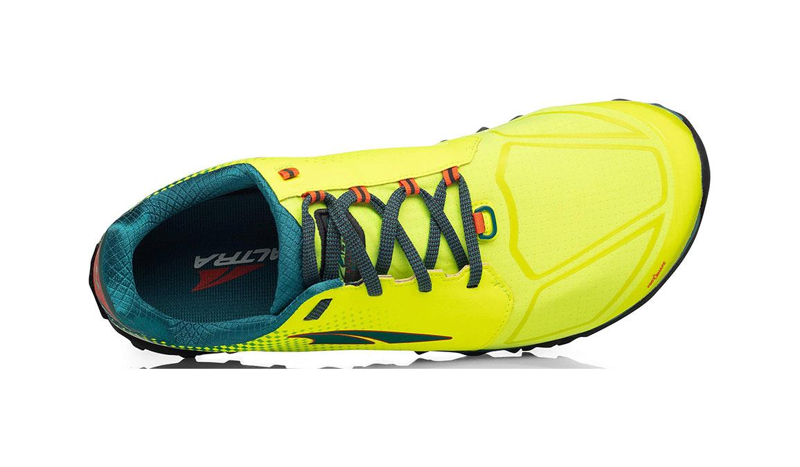 Men's Altra Superior 4 Running Shoe - Color: Neon/Blue (Regular Width) - Size: 8.5, Neon/Blue, large, image 3
