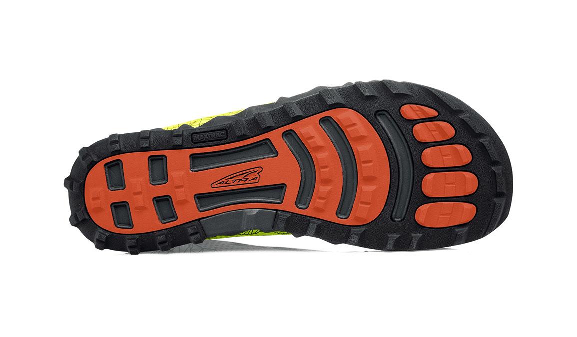 Men's Altra Superior 4 Running Shoe - Color: Neon/Blue (Regular Width) - Size: 8.5, Neon/Blue, large, image 4