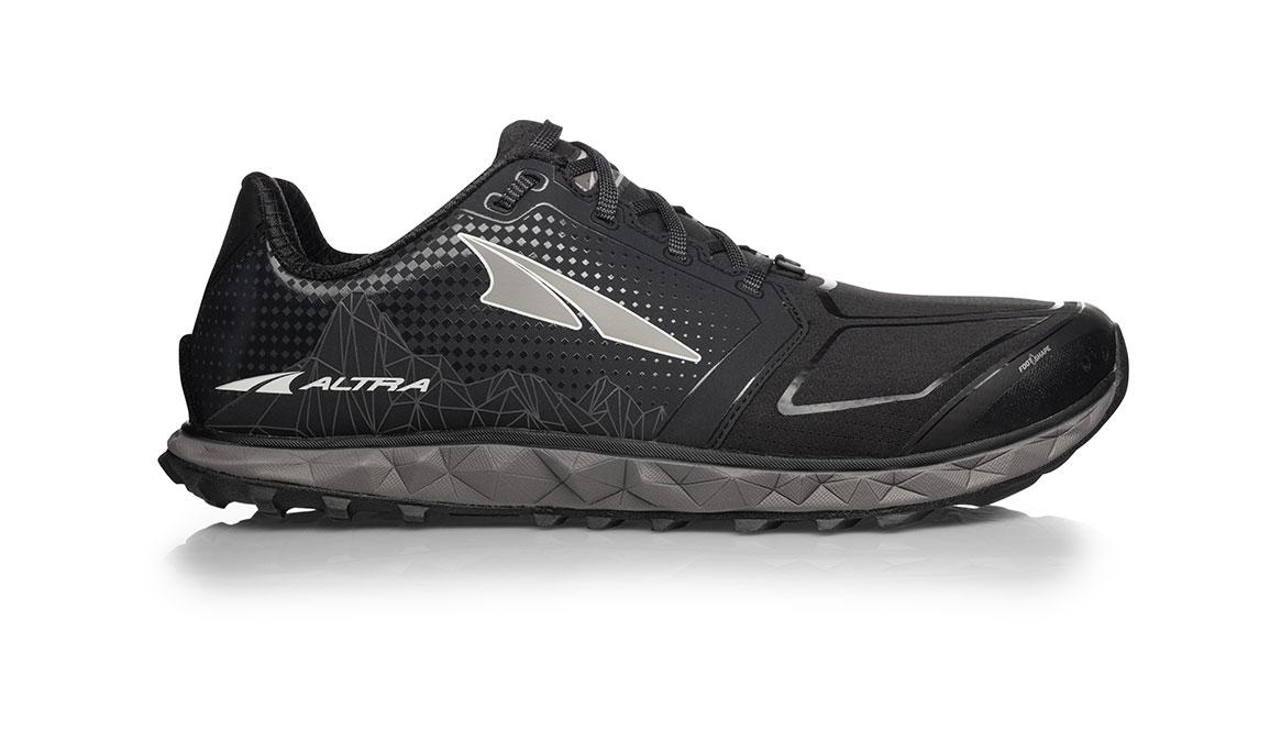 Men's Altra Superior 4.0 Trail Running Shoe - Color: Black (Regular Width) - Size: 10, Black, large, image 1