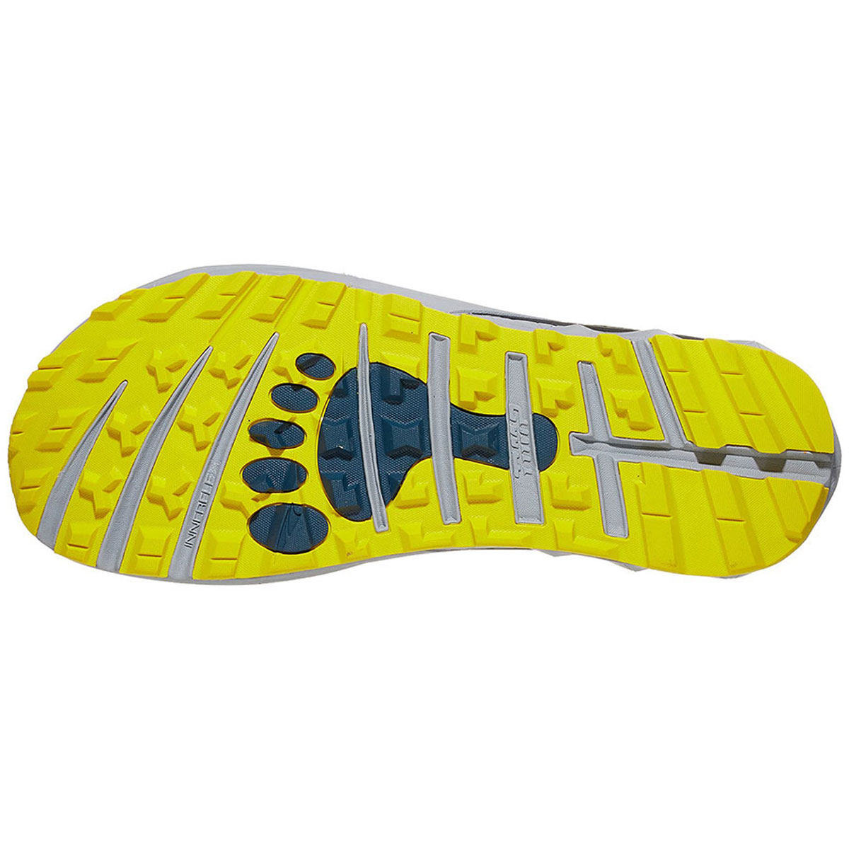 Men's Altra Timp 2 Running Shoe - Color: Moroccan Blue/Yellow (Regular Width) - Size: 10.5, Moroccan Blue/Yellow, large, image 3