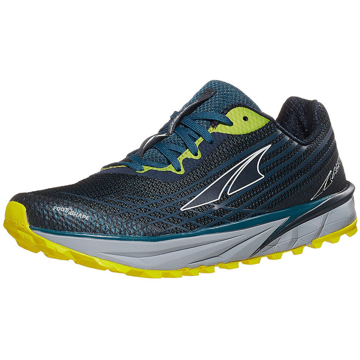 Men's Altra Timp 2 Running Shoe - Color: Moroccan Blue/Yellow (Regular Width) - Size: 10.5, Moroccan Blue/Yellow, large, image 4