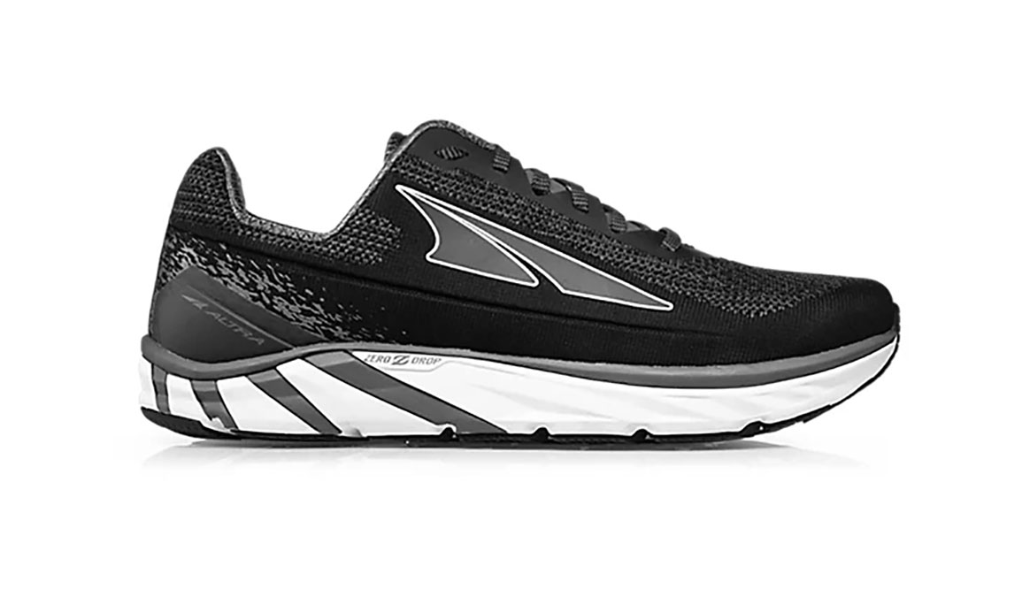 Men's Altra Torin 4 Plush Running Shoe - Color: Black/Grey (Regular Width) - Size: 8, Black/Grey, large, image 1