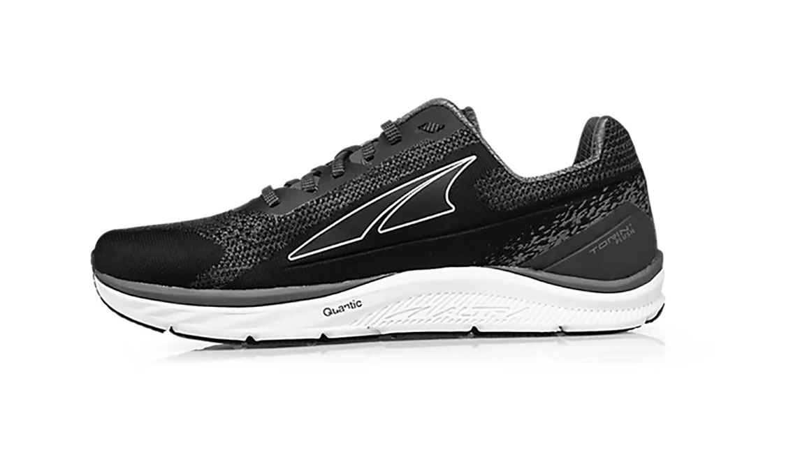 Men's Altra Torin 4 Plush Running Shoe - Color: Black/Grey (Regular Width) - Size: 8, Black/Grey, large, image 2