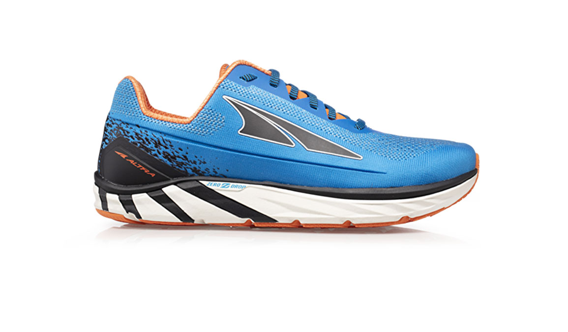 Men's Altra Torin 4 Plush Running Shoe - Color: Blue/Orange (Regular Width) - Size: 13, Blue/Orange, large, image 1