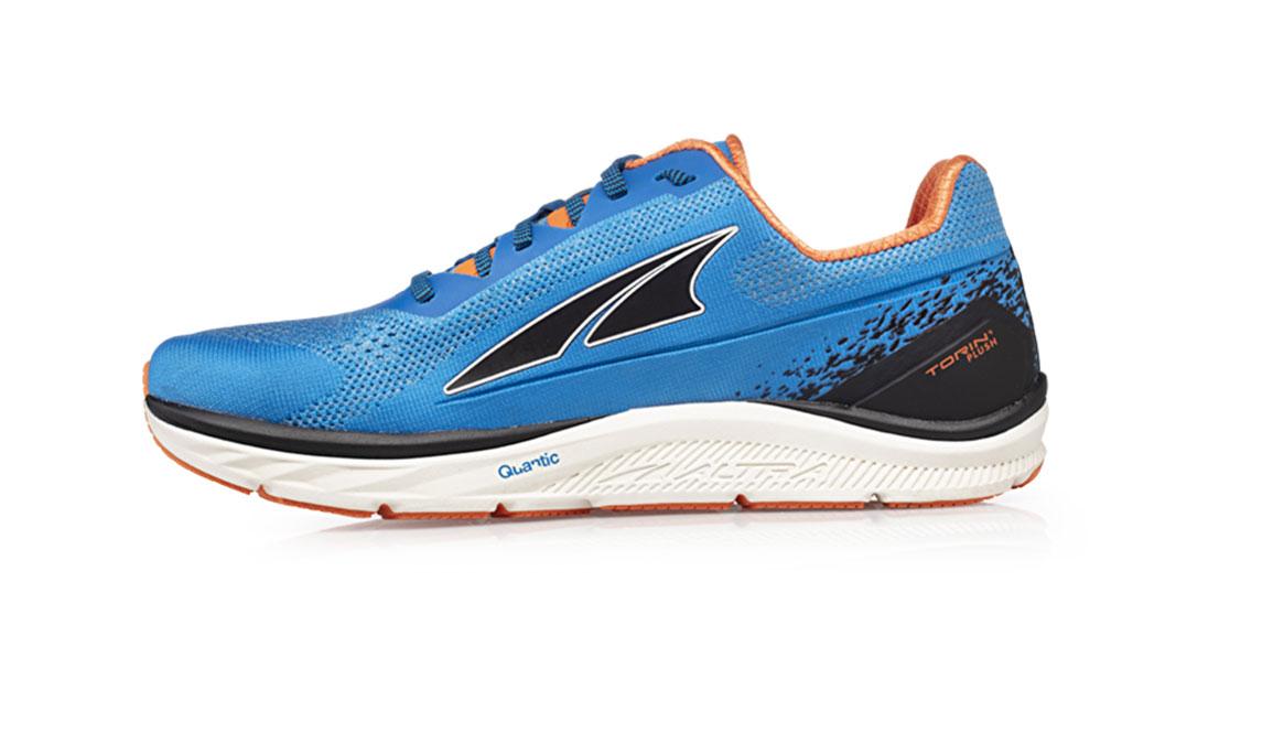 Men's Altra Torin 4 Plush Running Shoe - Color: Blue/Orange (Regular Width) - Size: 13, Blue/Orange, large, image 2