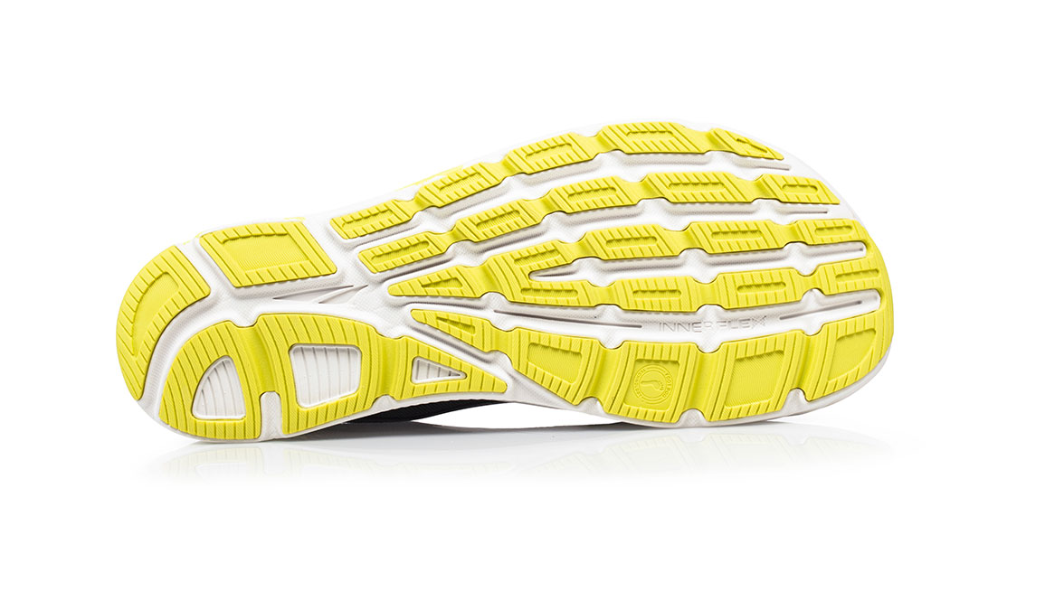 Men's Altra Torin 4 Plush Running Shoe - Color: Grey/Lime (Regular Width) - Size: 8.5, Grey/Lime, large, image 4