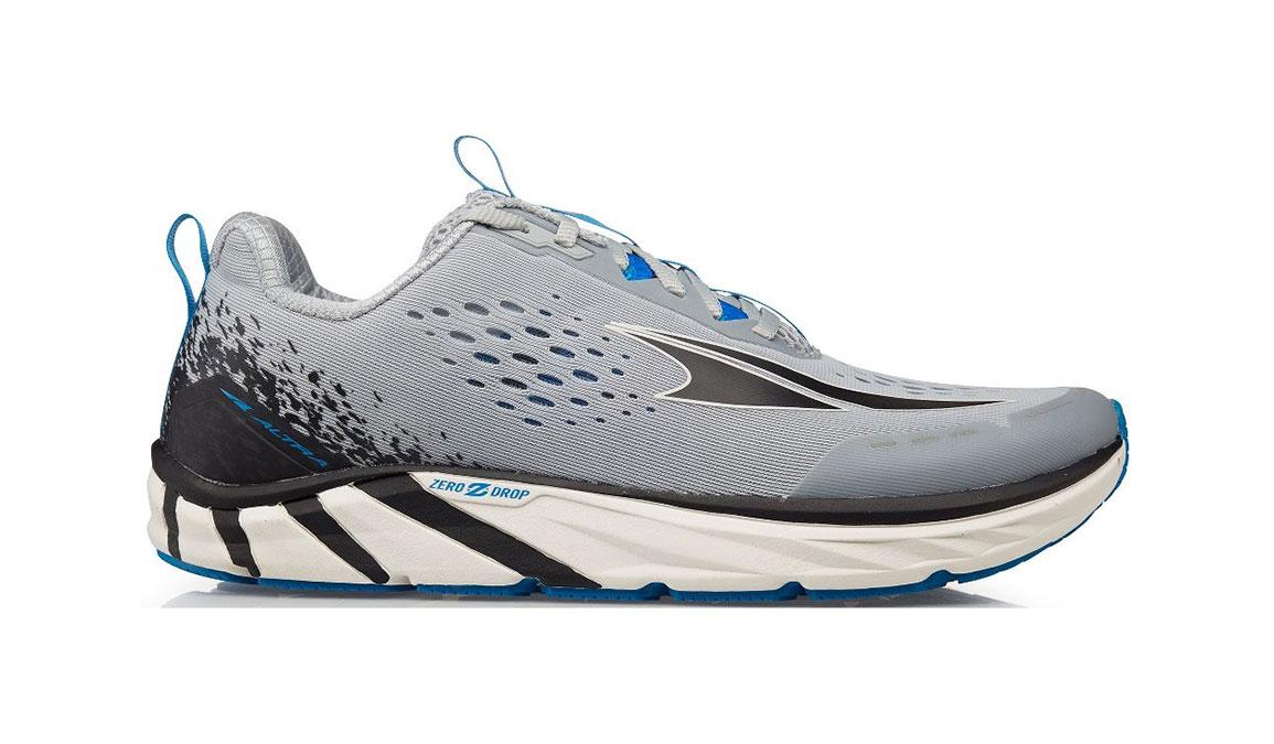Men's Altra Torin 4 Running Shoe - Color: Grey/Blue (Regular Width) - Size: 7, Grey/Blue, large, image 1