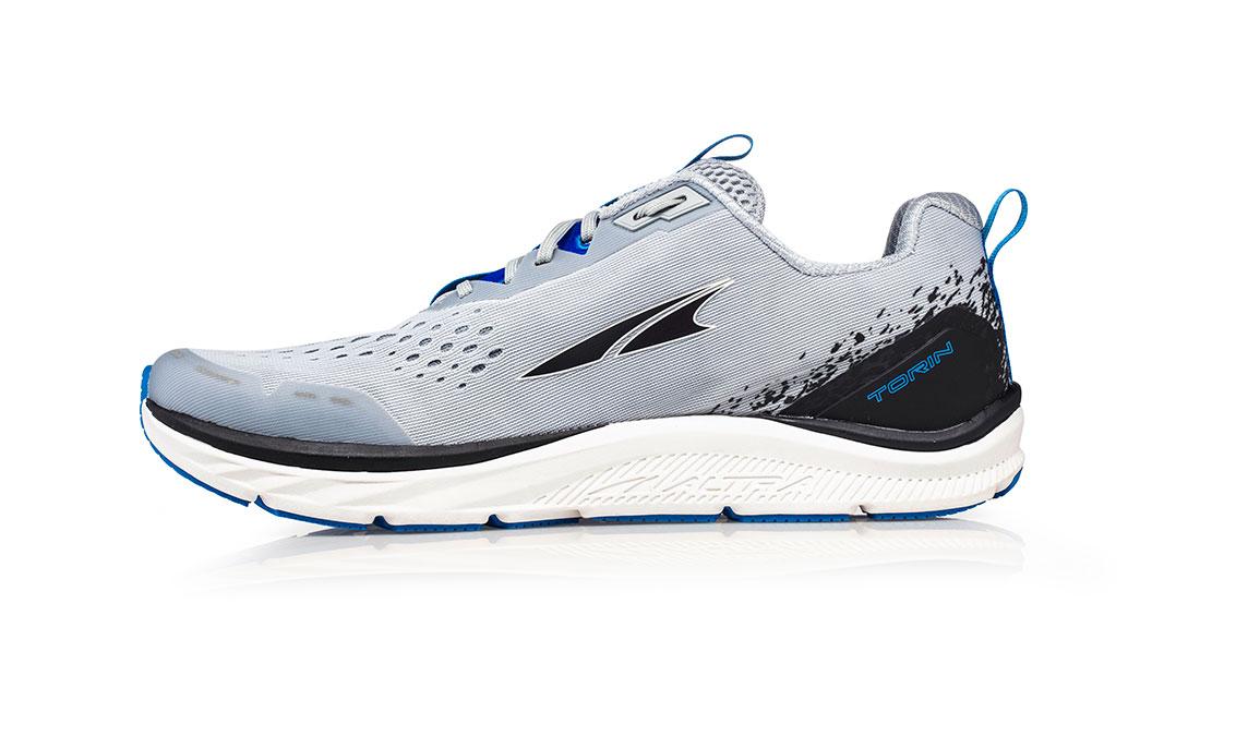 Men's Altra Torin 4 Running Shoe - Color: Grey/Blue (Regular Width) - Size: 7, Grey/Blue, large, image 2