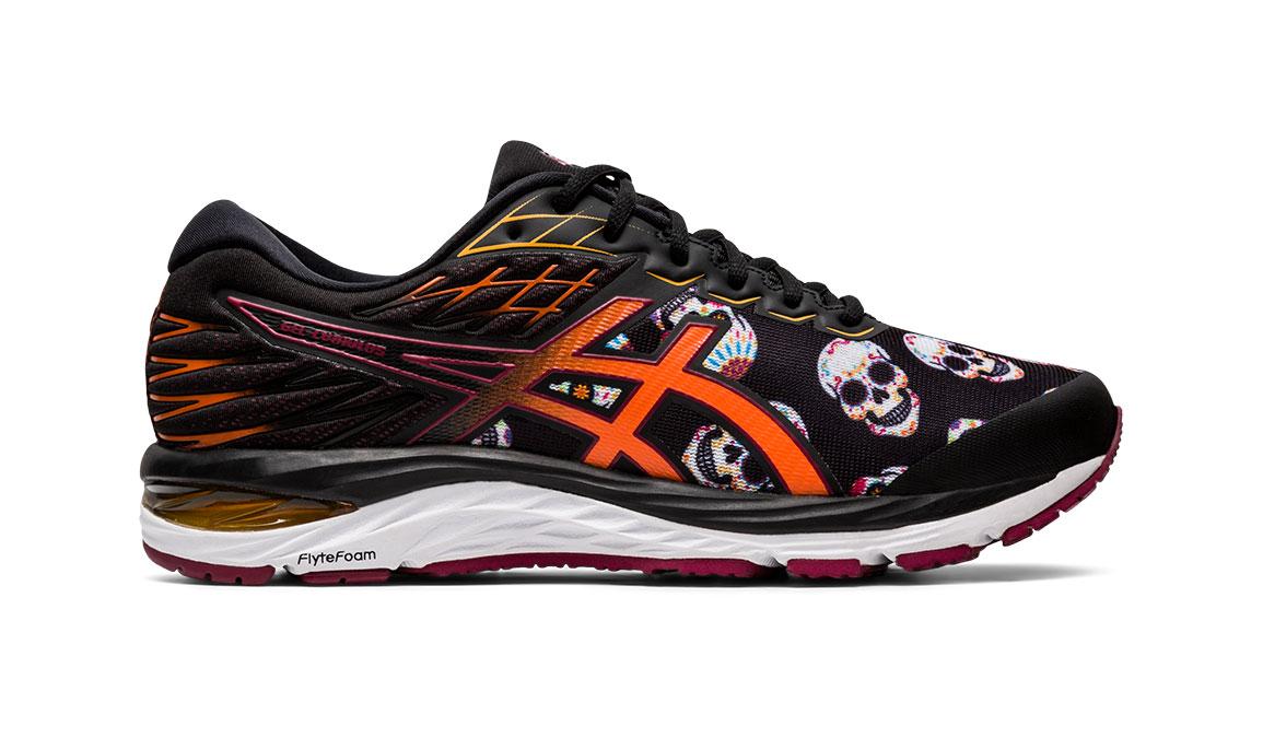 Men's Asics GEL-Cumulus 21 Day Of Dead Running Shoe - Color: Multi (Regular Width) - Size: 12, Multi, large, image 1