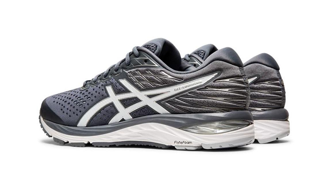 Men's Asics GEL-Cumulus 21 Running Shoe - Color: Metropolis/White (Regular Width) - Size: 6, Grey/White, large, image 5