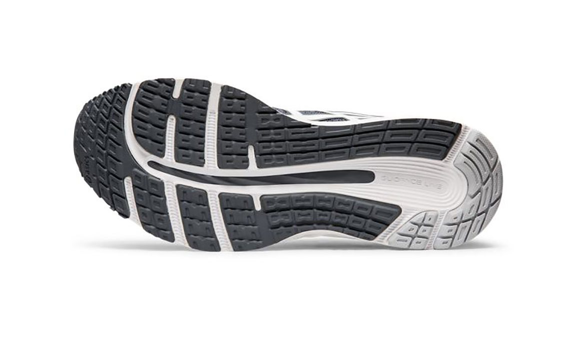 Men's Asics GEL-Cumulus 21 Running Shoe - Color: Metropolis/White (Regular Width) - Size: 6, Grey/White, large, image 3