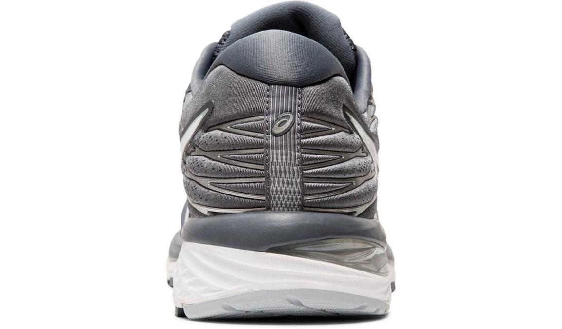 Men's Asics GEL-Cumulus 21 Running Shoe - Color: Metropolis/White (Regular Width) - Size: 6, Grey/White, large, image 4