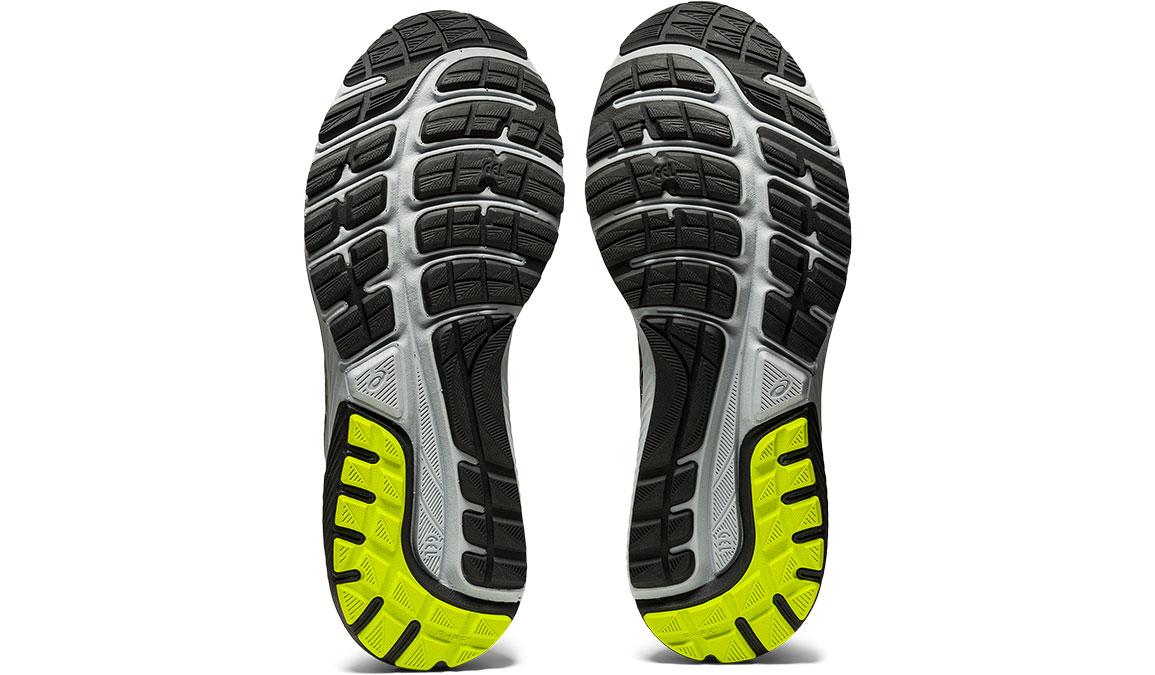 Men's Asics GEL-Cumulus 22 Running Shoe - Color: Graphite Grey/Lime Zest (Regular Width) - Size: 6.5, Grey/Green, large, image 5