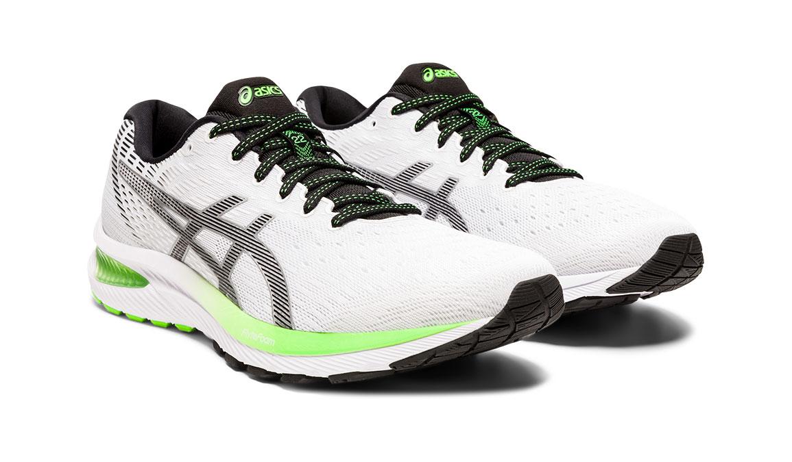 Men's Asics GEL-Cumulus 22 Running Shoe - Color: White/Black (Regular Width) - Size: 8.5, White/Black, large, image 2