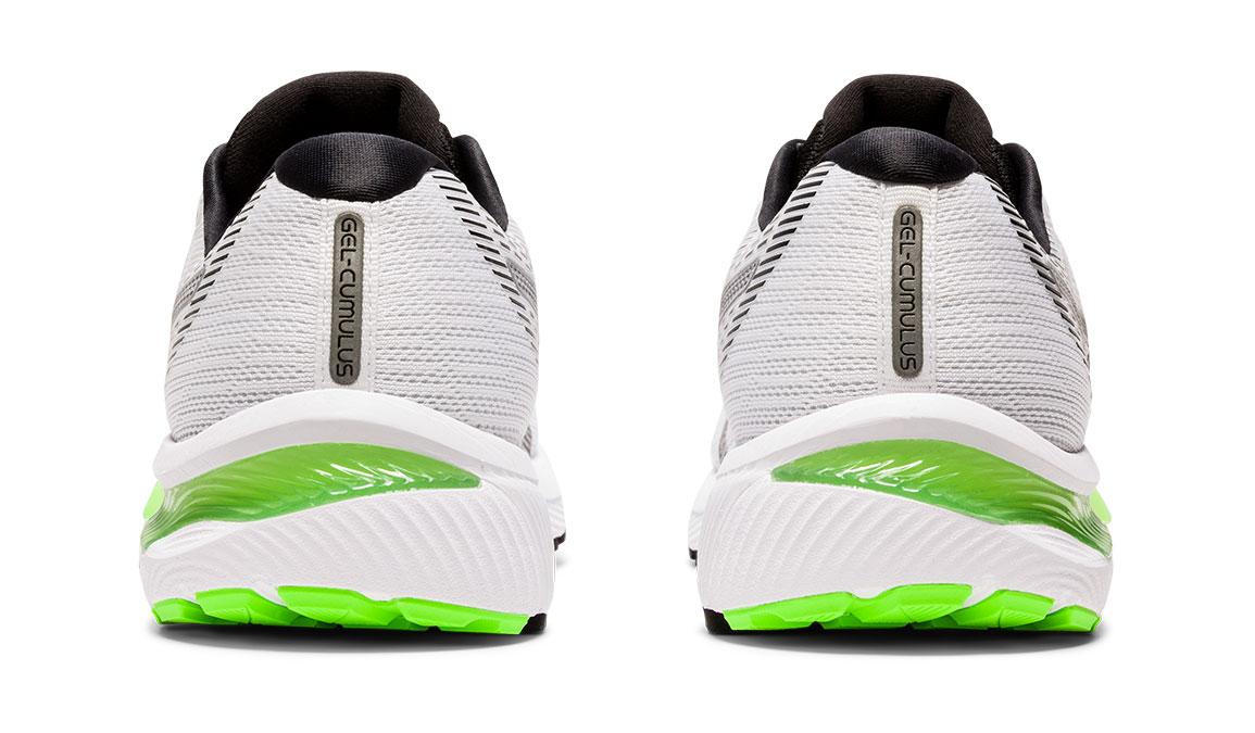 Men's Asics GEL-Cumulus 22 Running Shoe - Color: White/Black (Regular Width) - Size: 8.5, White/Black, large, image 4