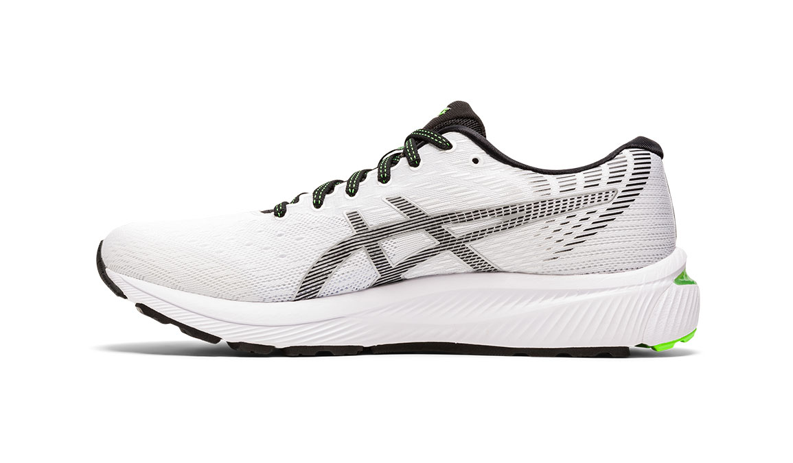 Men's Asics GEL-Cumulus 22 Running Shoe - Color: White/Black (Regular Width) - Size: 8.5, White/Black, large, image 3