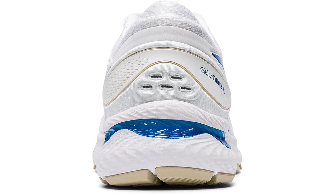 Men's Asics GEL-Nimbus 22 Retro Tokyo Running Shoe - Color: White/Electric Blue (Regular Width) - Size: 9.5, White/Blue, large, image 4
