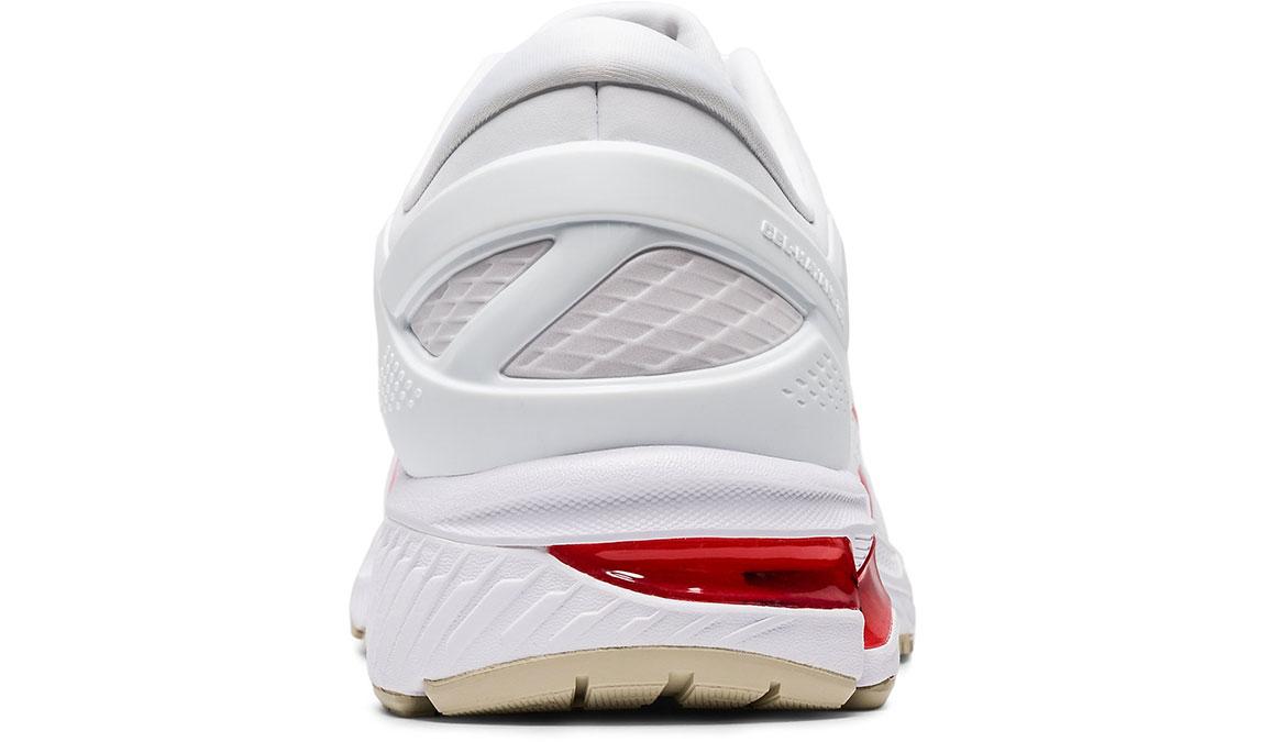 Men's Asics GEL-Kayano 26 Retro Tokyo Running Shoe - Color: White/Red (Regular Width) - Size: 8.5, White/Red, large, image 4