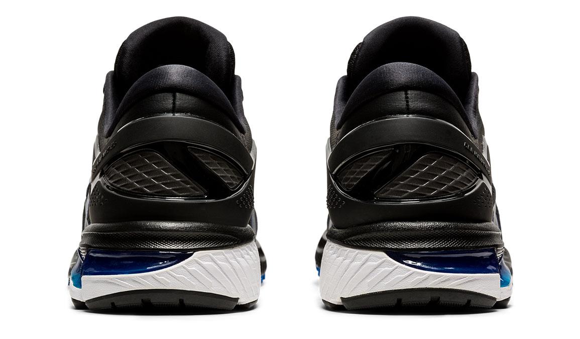 Men's Asics GEL-Kayano 26 Running Shoe - Color: Black/Graphite/Blue (Regular Width) - Size: 10, Black/Blue, large, image 4