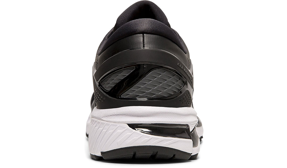 Men's Asics GEL-Kayano 26 Running Shoe - Color: Black/White (Regular Width) - Size: 8.5, Black/White, large, image 4
