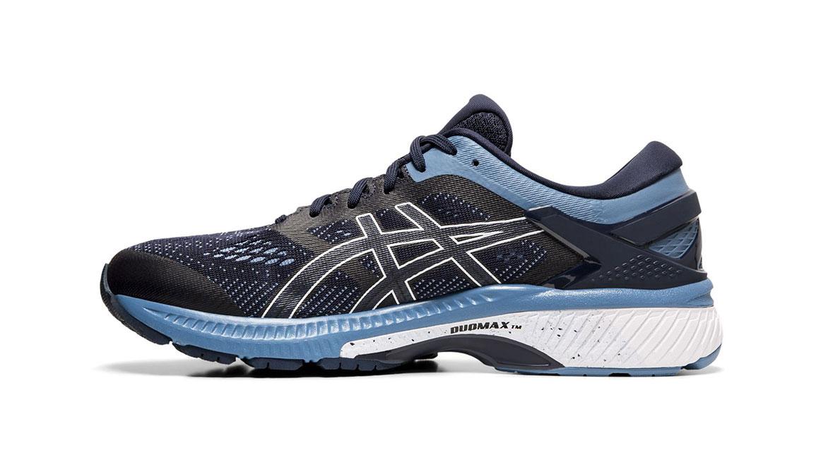 Men's Asics GEL-Kayano 26 Running Shoe - Color: Midnight/Grey (Regular Width) - Size: 6, Midnight, large, image 2